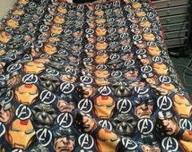 Avengers Fleece Tie Blanket