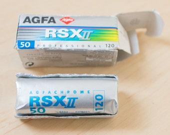 AGFA Agfachrome RSX 100 Medium Format SLIDE 120 Film – Rare Expired Slides with bright colours L6