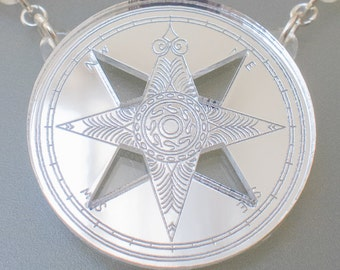 Siren Compass necklace