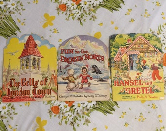 Set of 3 Kiddie Kut Books Molly B. Thomson