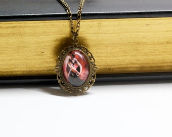 Shadowhunters:The Mortal Instruments Simon Lewis Cameo Necklace/Bookmark/Necklace/Keychain/Bracelet/Cameo