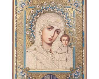 Kazanskaya russian icon - #5bb