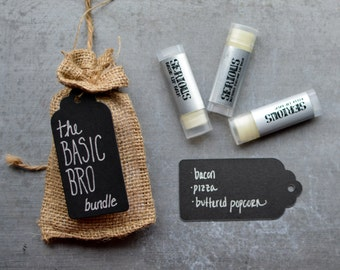 The Basic Bro Serious Lip Balm Bundle - 3pack