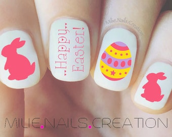 Easter Nail Decal