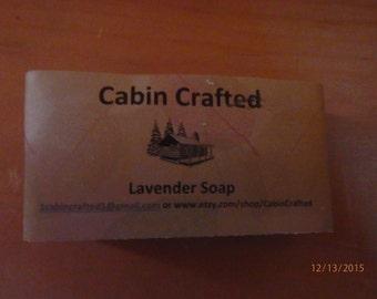 Lavender Vegan Cold Process Bar Soap