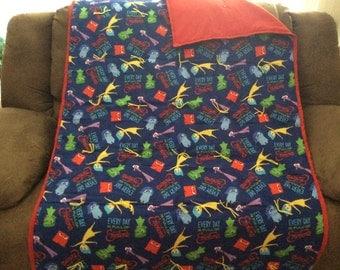 Inside Out blanket