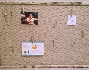 Large Vintage Frame Memo Board