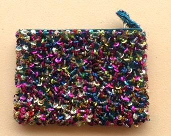 Sparkly Sequin Coin Purse