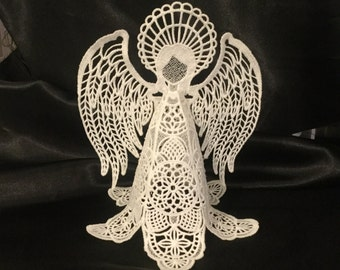 Angel, Free Standing Lace,