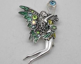 Vintage Fairy Brooch