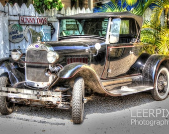 Old Automobile in Key West