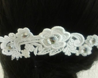 Wedding lace hair comb