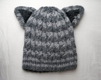 Tabby striped toddler hat