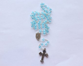 Baby Blue Rosary