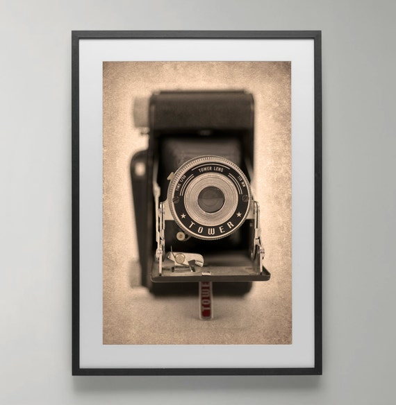 Vintage Camera Fine Art Photography Home Decor Office Wall