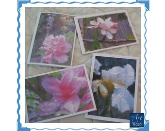 Floral note cards; Blank Greeting Cards; Blank Note Card; Stationery; Nature Photos; Enhanced Photos; Gift Idea; Inexpensive, Gift for Her