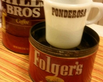 Vintage Pyrex Ponderosa Promotional 709 Coffee Mug