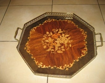 Antique French Tray