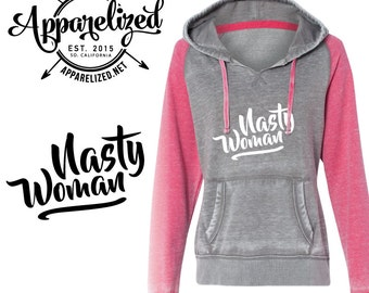 Nast Woman Hoodie - Hooded Sweatshirt - Hillary