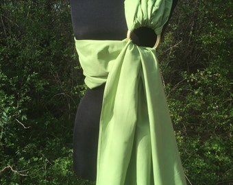 Baby Sling / Baby Ring Sling / Baby Wrap Carrier / FAST SHIPPING - 100% Super Cotton - Light Green