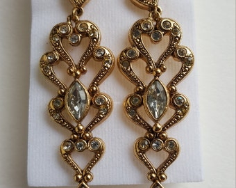 Vintage Avon Gold Earrings Set