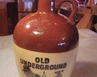 Old Underground Whiskey Jug