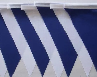 Scottish  White & Blue  bunting