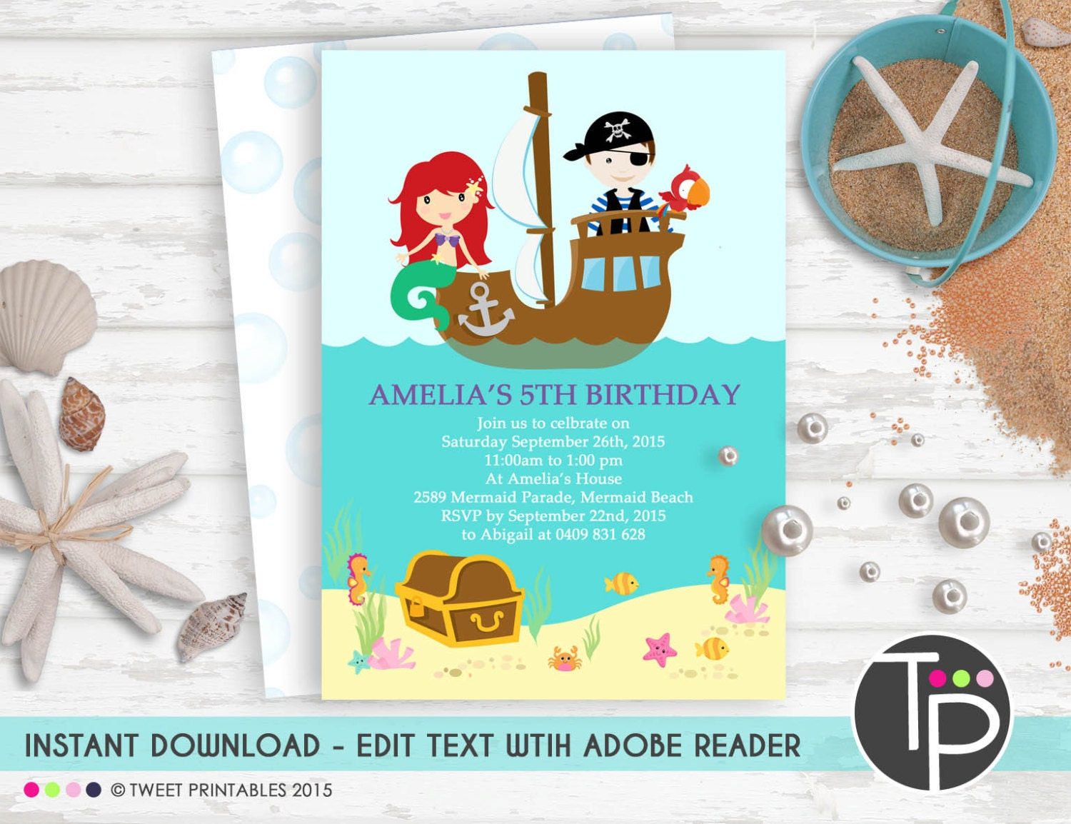 Pirate party invite – Pirate Party Invites
