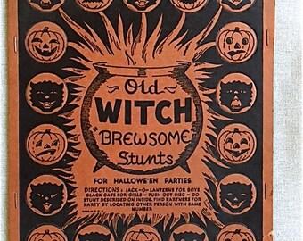 Vintage Beistle Halloween Stunt Game