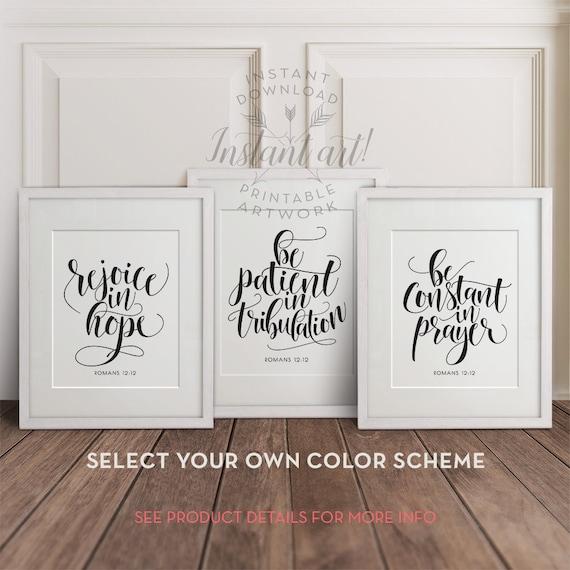 bible verse wall artscripture wall art printablesprintable. Black Bedroom Furniture Sets. Home Design Ideas