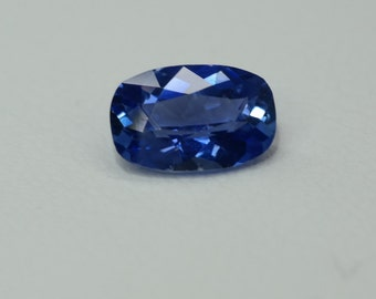 Ceylon Sapphire | Cushion cut Sapphire | loose gemstones | natural gemstones | Ceylon blue sapphire | gems and minerals | sapphire jewelry