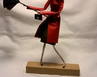 Wire Paper Mache Sculpture Art