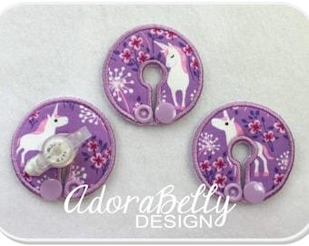 Unicorn GTube Pads G Tube Covers Lavender Tubie