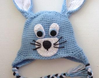 Easter bunny hat, choose custom color