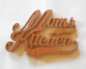 Mom's kitchen wall hanging