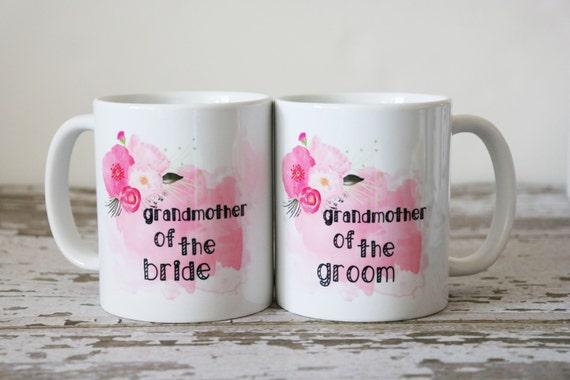 Grandmother Wedding Gift: Grandmother Of The Groom Mug Wedding Gift For Grandmother