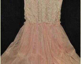Girls Pink Dress Size 4/5-Tutu Dress-Flower Girl-Girls Sleeveless pink dress-Party Dress-Girls Summer Dress