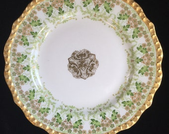 Antiques Jean Pouyat Limoges plate