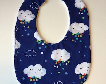 Dreamy raincloud bib