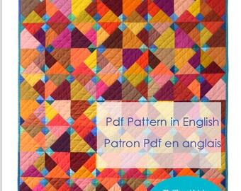 Blue Ducks, Pdf pattern in English