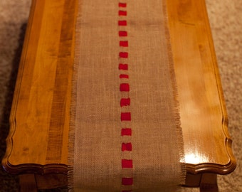 3 foot Burlap Table Runner
