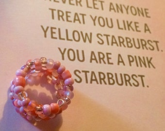 Statement Seed Bead Ring