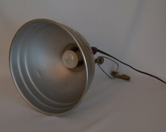 Vintage Industrial Workshop Light, Photography Light, Metal Light, Mechanic Light, Portable Floodlight, Acme-Lite