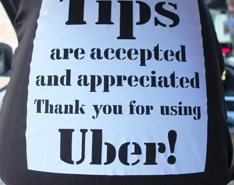 Uber signs for TIPS