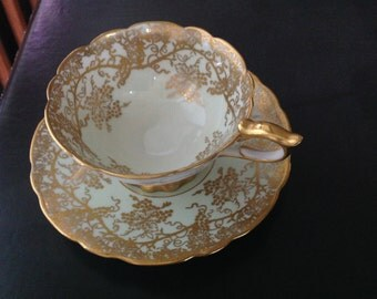 Royal Stafford bone china Grapevine teacup