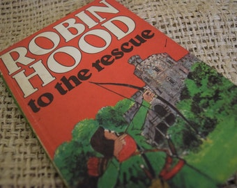 Robin Hood to the Rescue. A Vintage Ladybird Book.