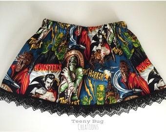 Monster Horror Skirt