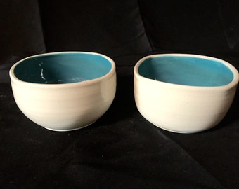 Porcelain Cereal Bowls- Set of two