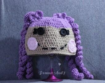 Lala Loopsy Inspired Crochet Hat