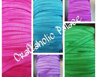FOE... You choose colors... Elastic... Headband Supplies